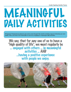 GT Theme - Meaningful Daily Activities